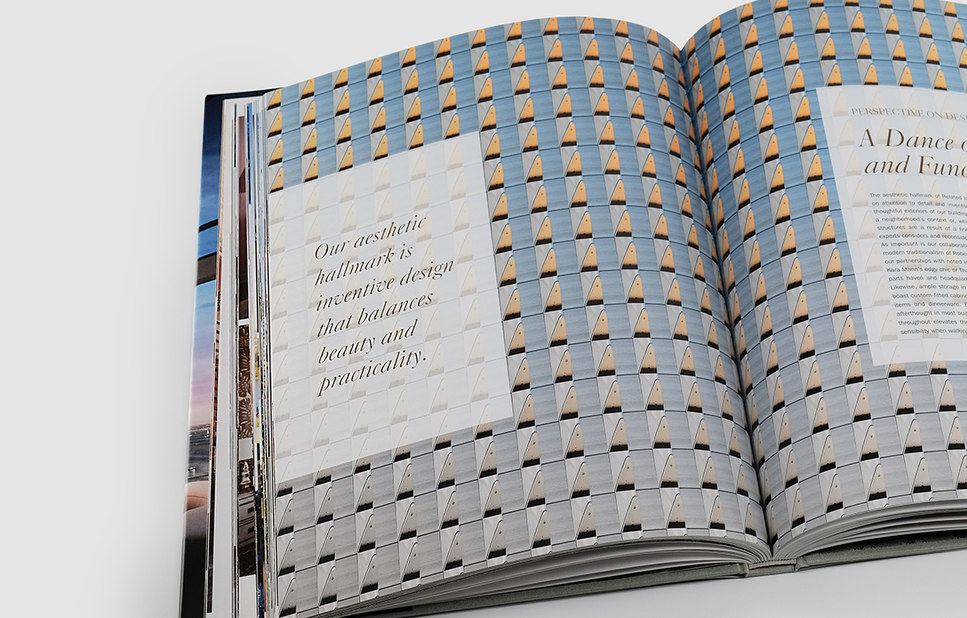interior pattern spread in coffee table book – Related – point one percent