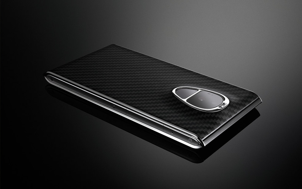back face of Solarin smartphone – Sirin Labs – point one percent