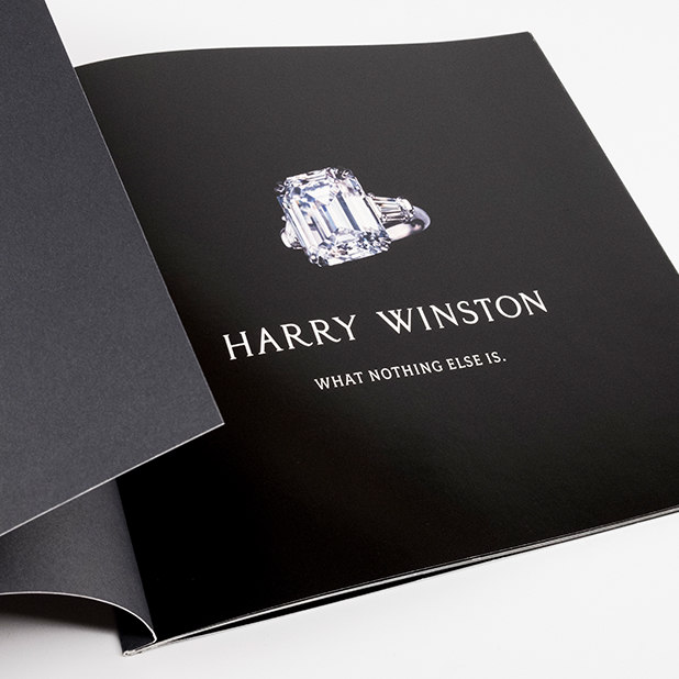 large diamond ring collateral – Harry Winston – point one percent