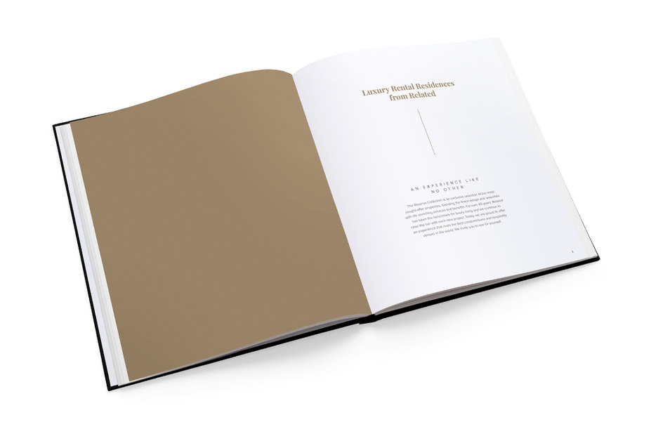 Reserve premium collection brochure interior – Related – point one percent