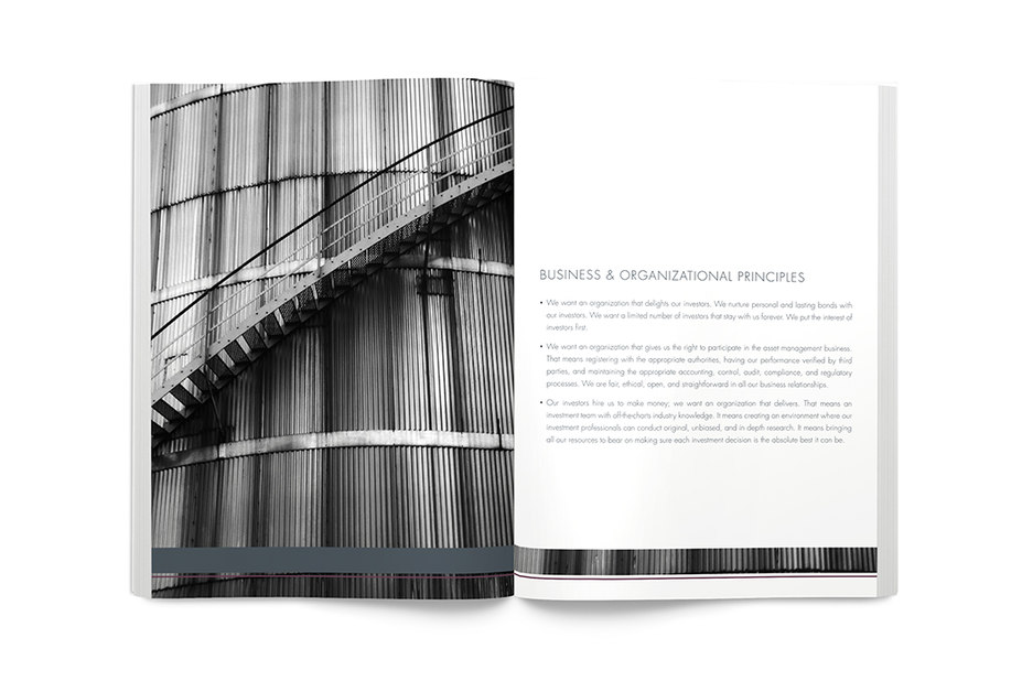 printed collateral interior spread - regent street capital - point one percent